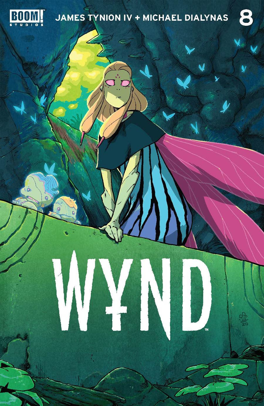 Wynd #8 Cover A Regular Michael Dialynas Cover