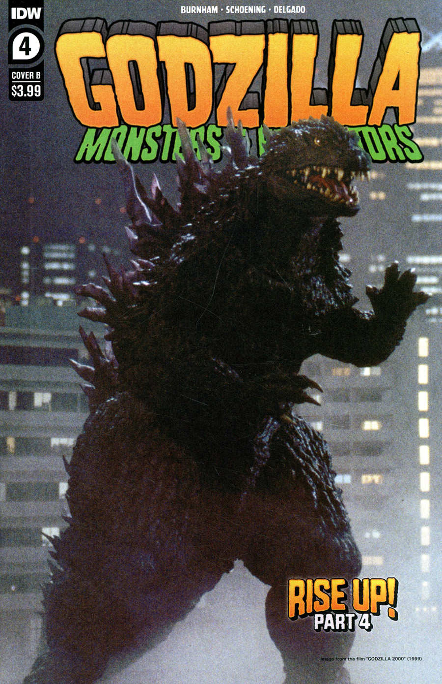 Godzilla Monsters & Protectors #4 Cover B Variant Photo Cover