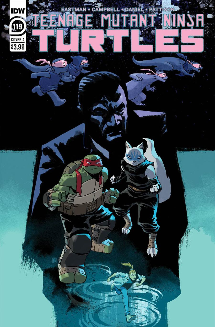 Teenage Mutant Ninja Turtles Vol 5 #119 Cover A Regular Nelson Daniel Cover