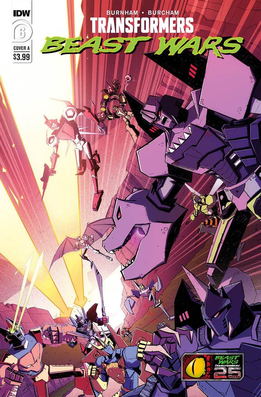 Transformers Beast Wars Vol 2 #6 Cover A Regular Josh Burcham Cover