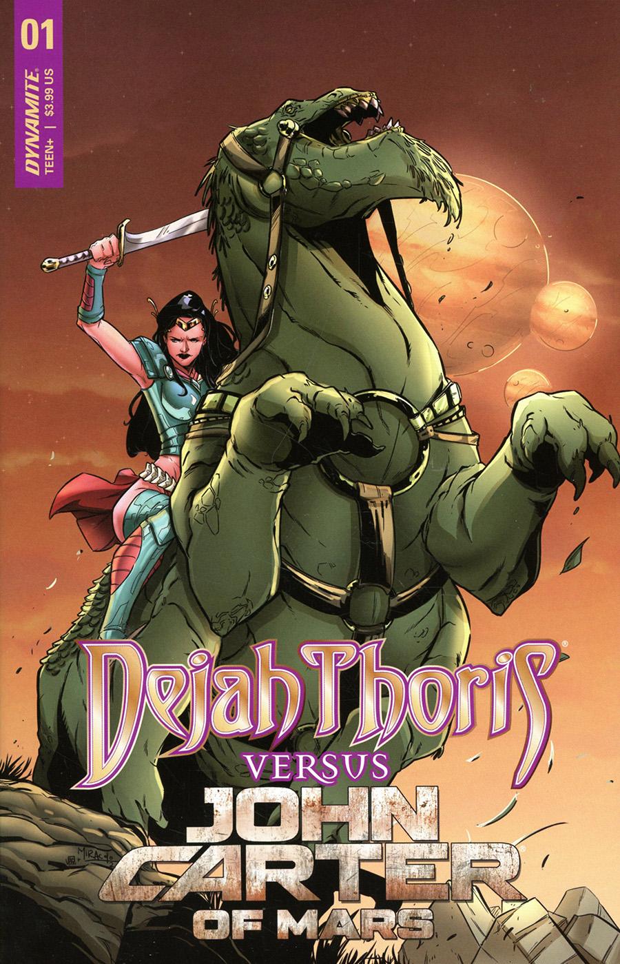 Dejah Thoris Versus John Carter Of Mars #1 Cover C Variant Alessandro Miracolo Cover