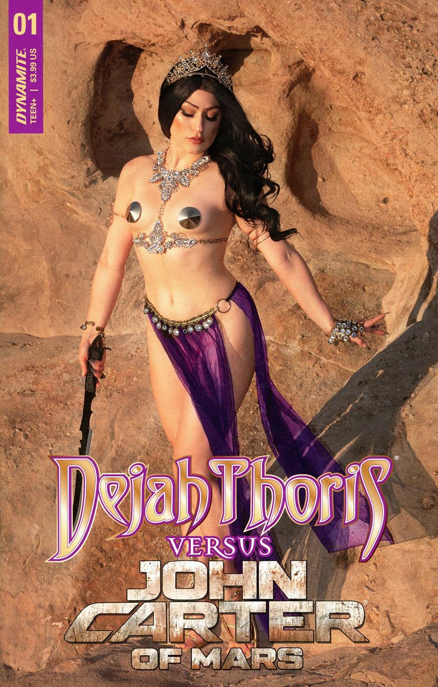 Dejah Thoris Versus John Carter Of Mars #1 Cover D Variant Rachel Hollon Cosplay Photo Cover
