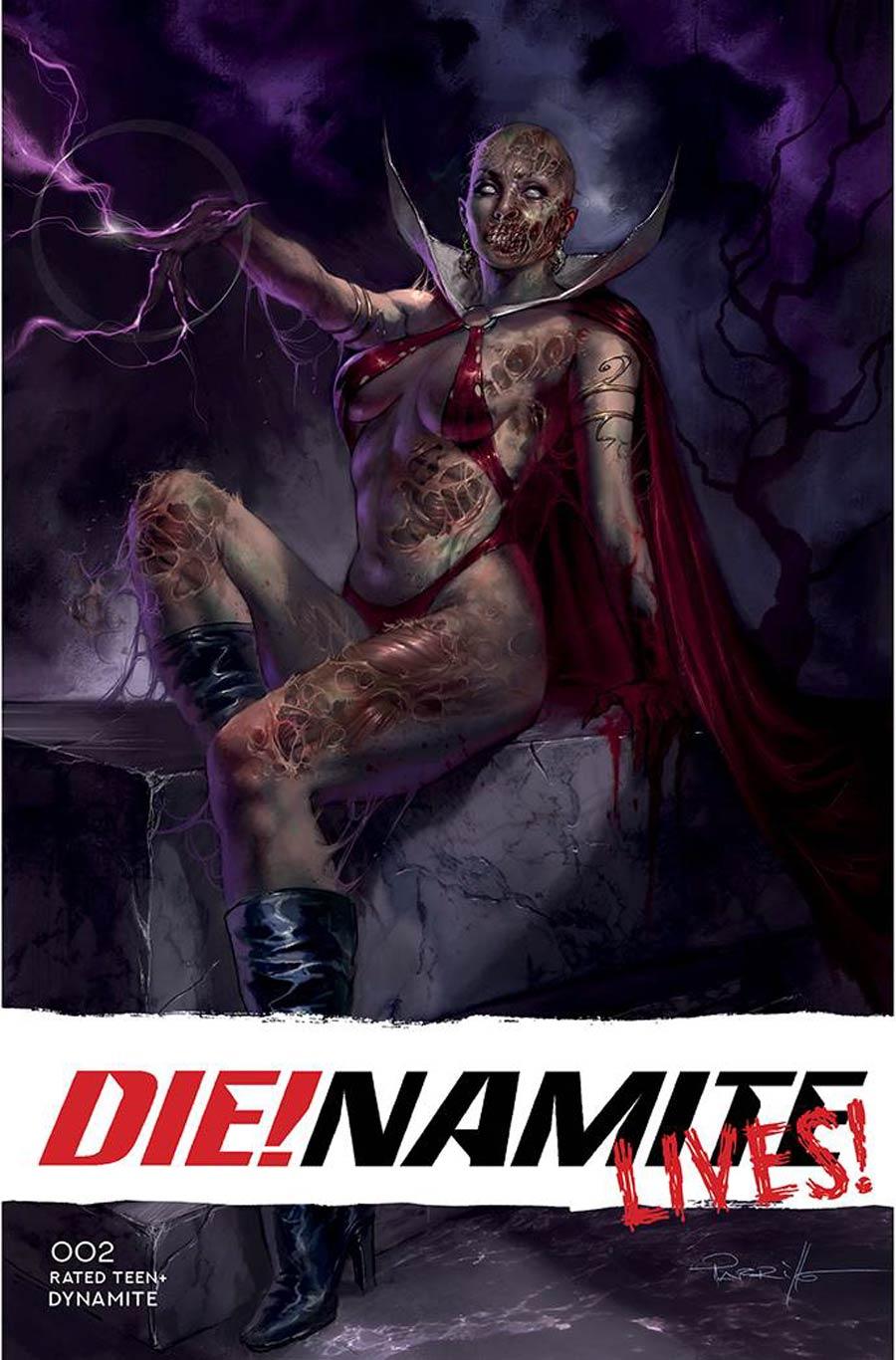 DieNamite Lives #2 Cover A Regular Lucio Parrillo Cover