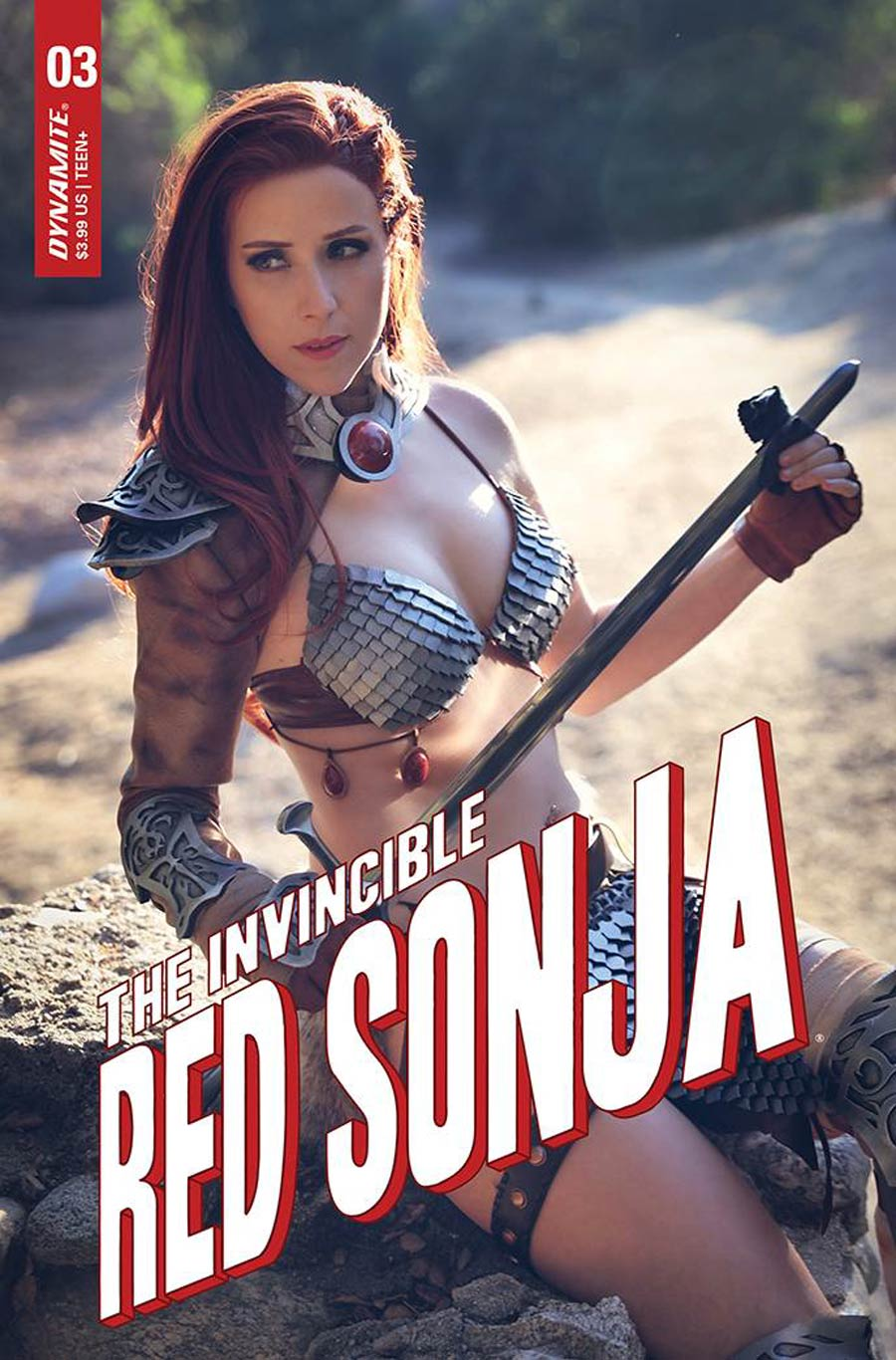 Invincible Red Sonja #3 Cover E Variant Dominica Cosplay Photo Cover