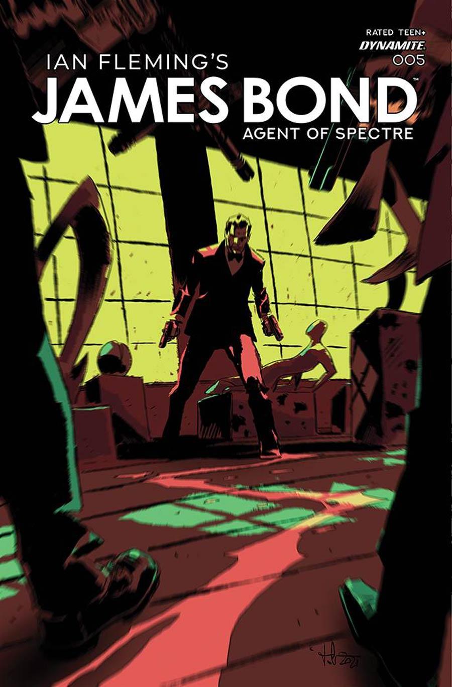 James Bond Agent Of SPECTRE #5 Cover A Regular Luca Casalanguida Cover