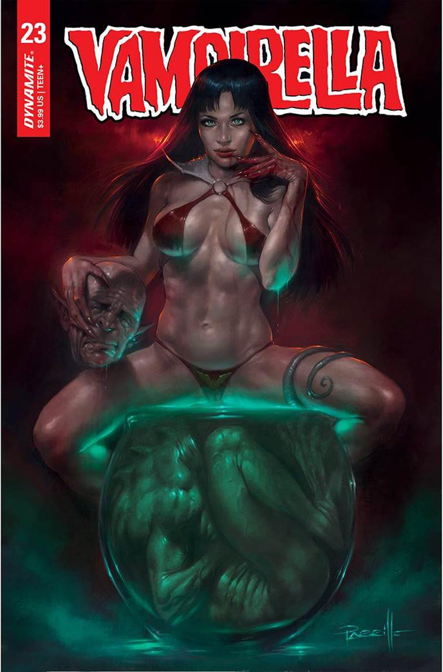 Vampirella Vol 8 #23 Cover A Regular Lucio Parrillo Cover
