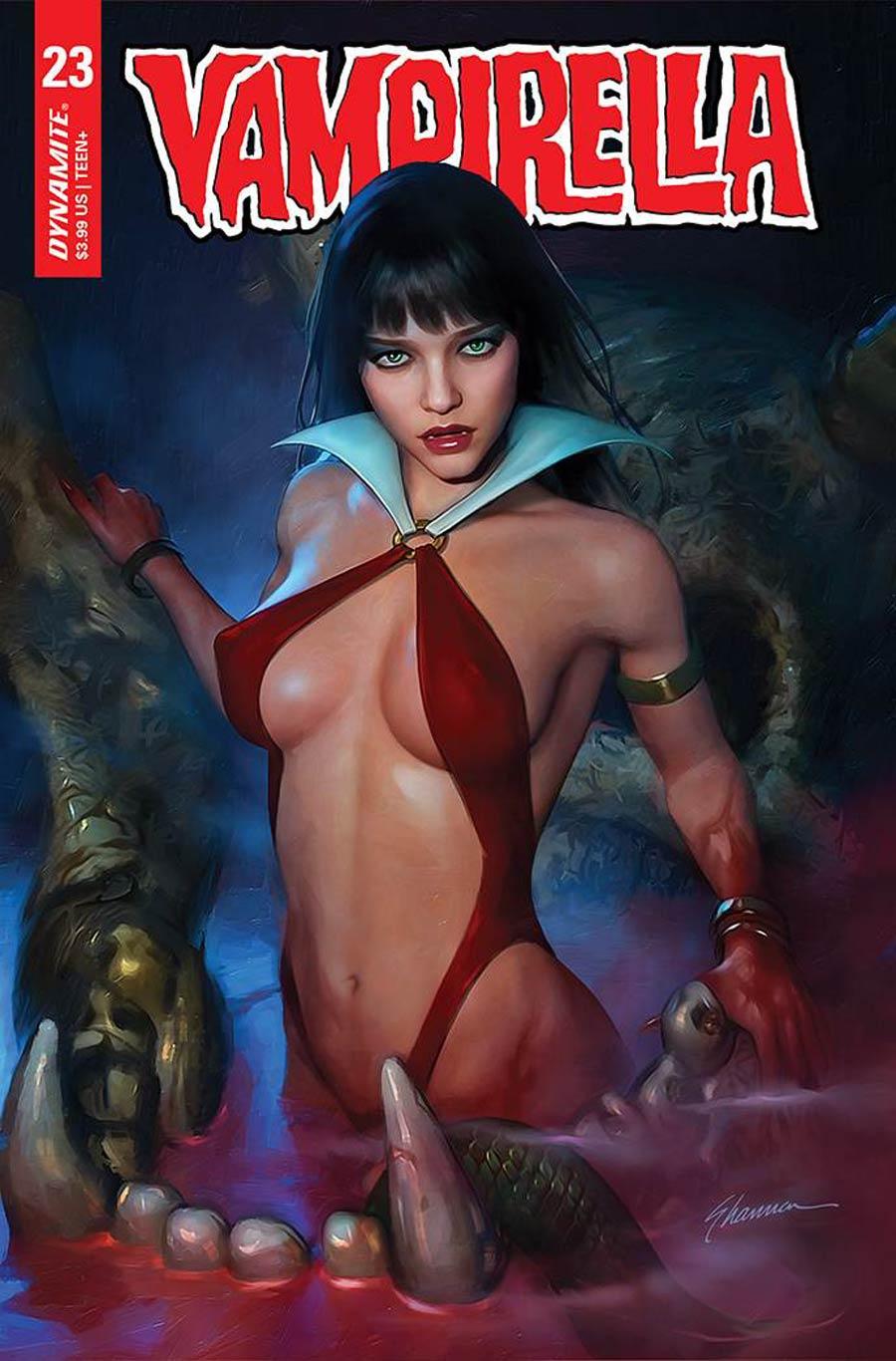 Vampirella Vol 8 #23 Cover C Variant Shannon Maer Cover