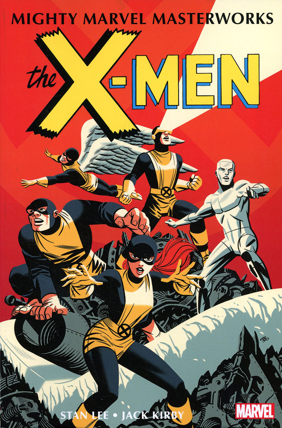 Mighty Marvel Masterworks X-Men Vol 1 Strangest Super Heroes Of All GN Book Market Michael Cho Cover