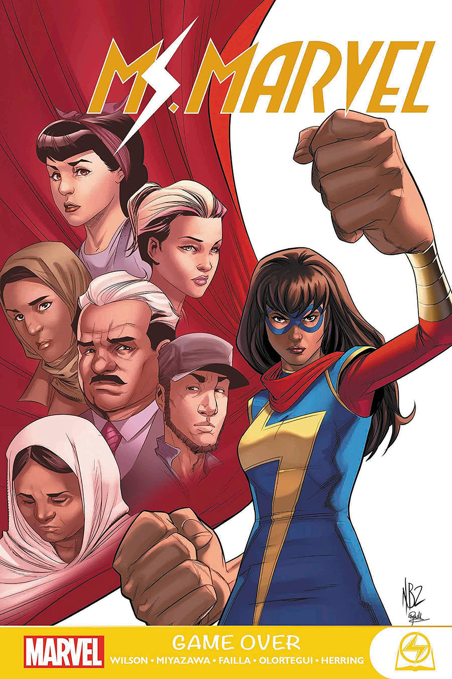 Ms Marvel Game Over GN