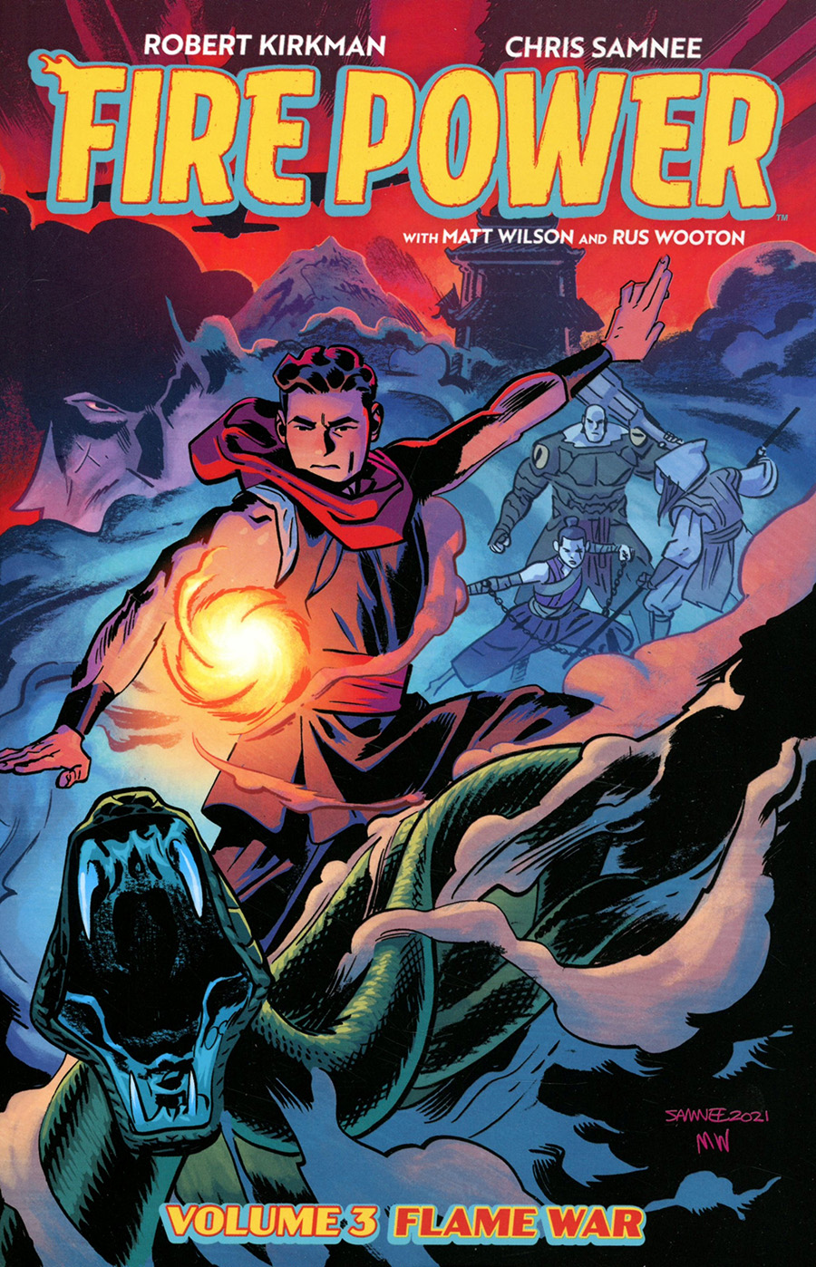Fire Power By Kirkman & Samnee Vol 3 Flame War TP