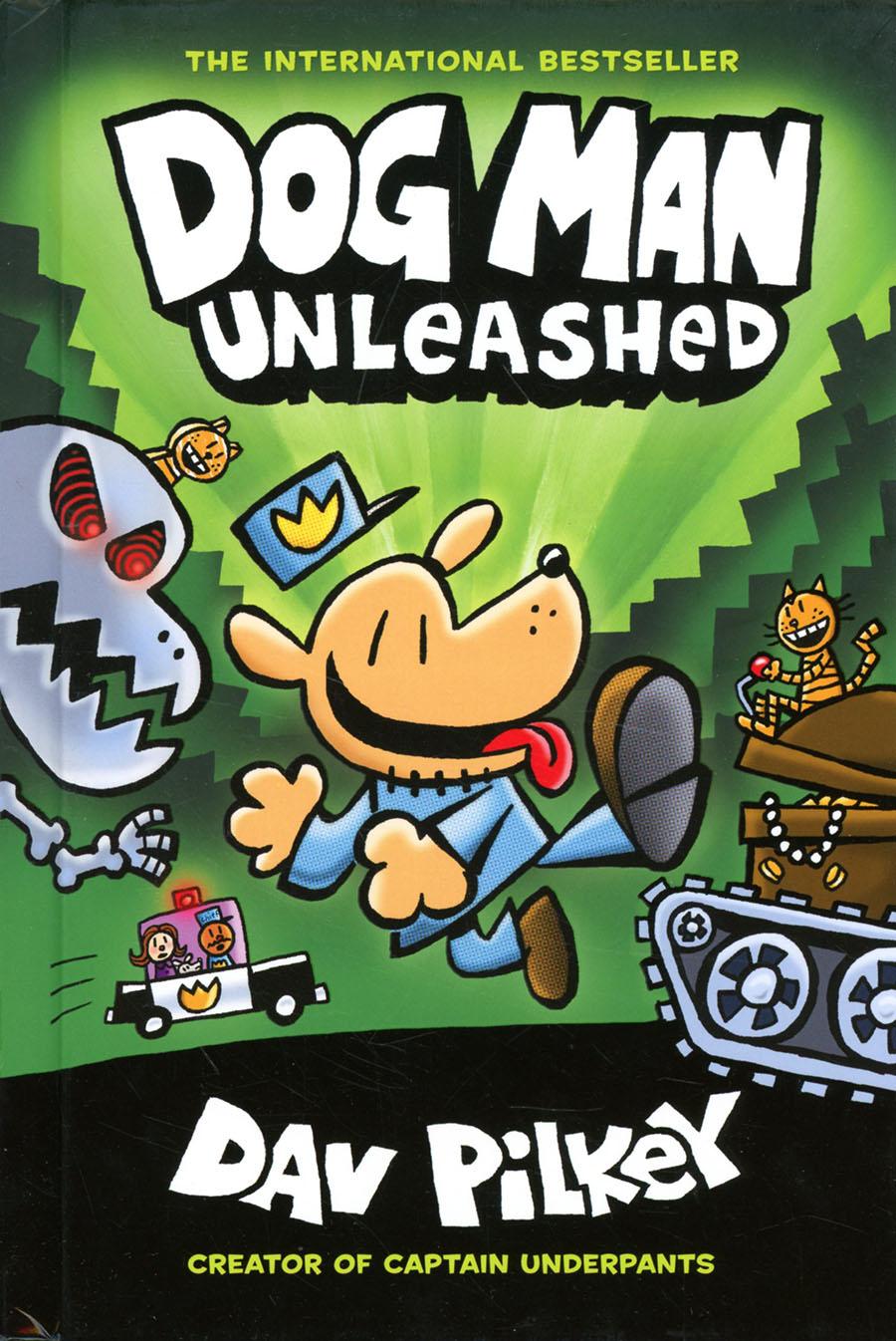 Dog Man Vol 2 Unleashed HC New Printing Foil-Enhanced Cover