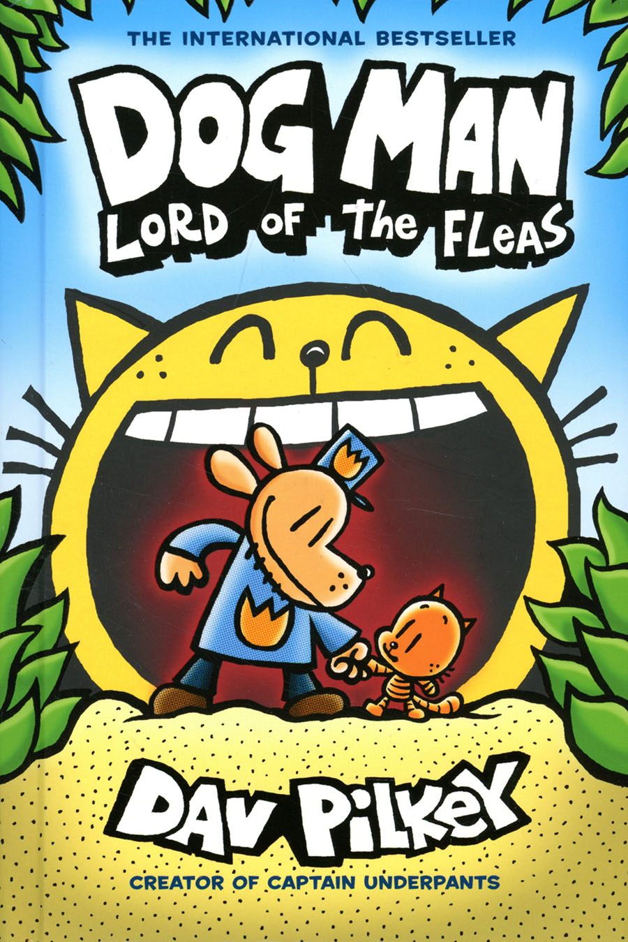 Dog Man Vol 5 Lord Of The Fleas HC New Printing Foil-Enhanced Cover