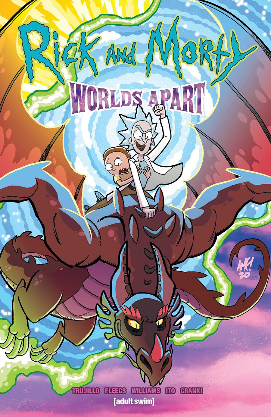Rick And Morty Worlds Apart TP
