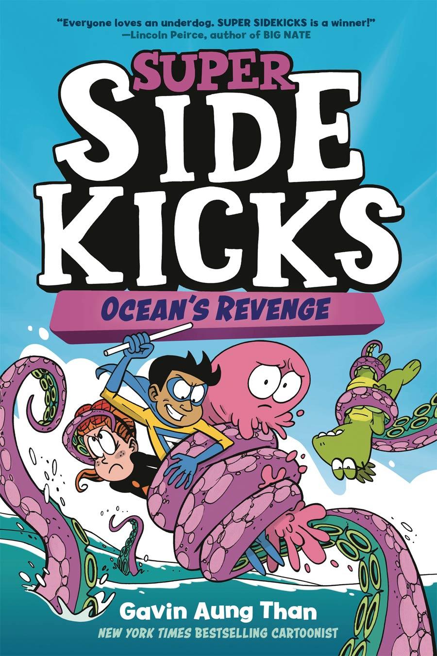Super Sidekicks Vol 2 Oceans Revenge TP