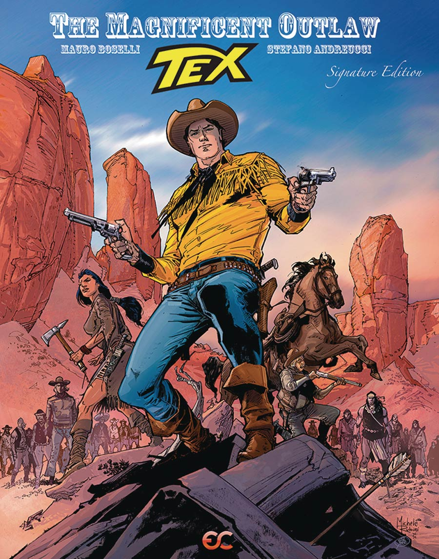 Tex The Magnificent Outlaw HC