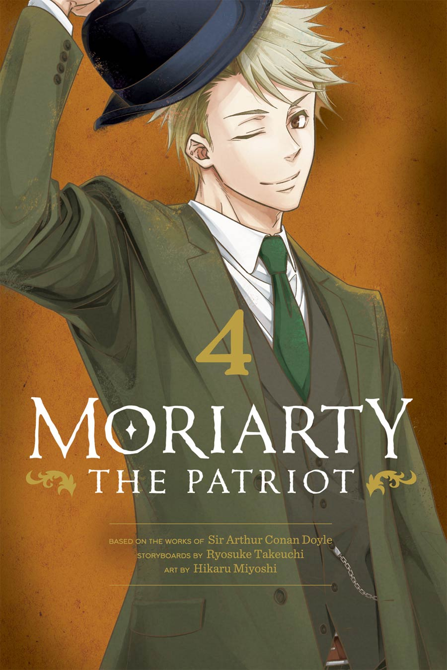 Moriarty The Patriot Vol 4 GN