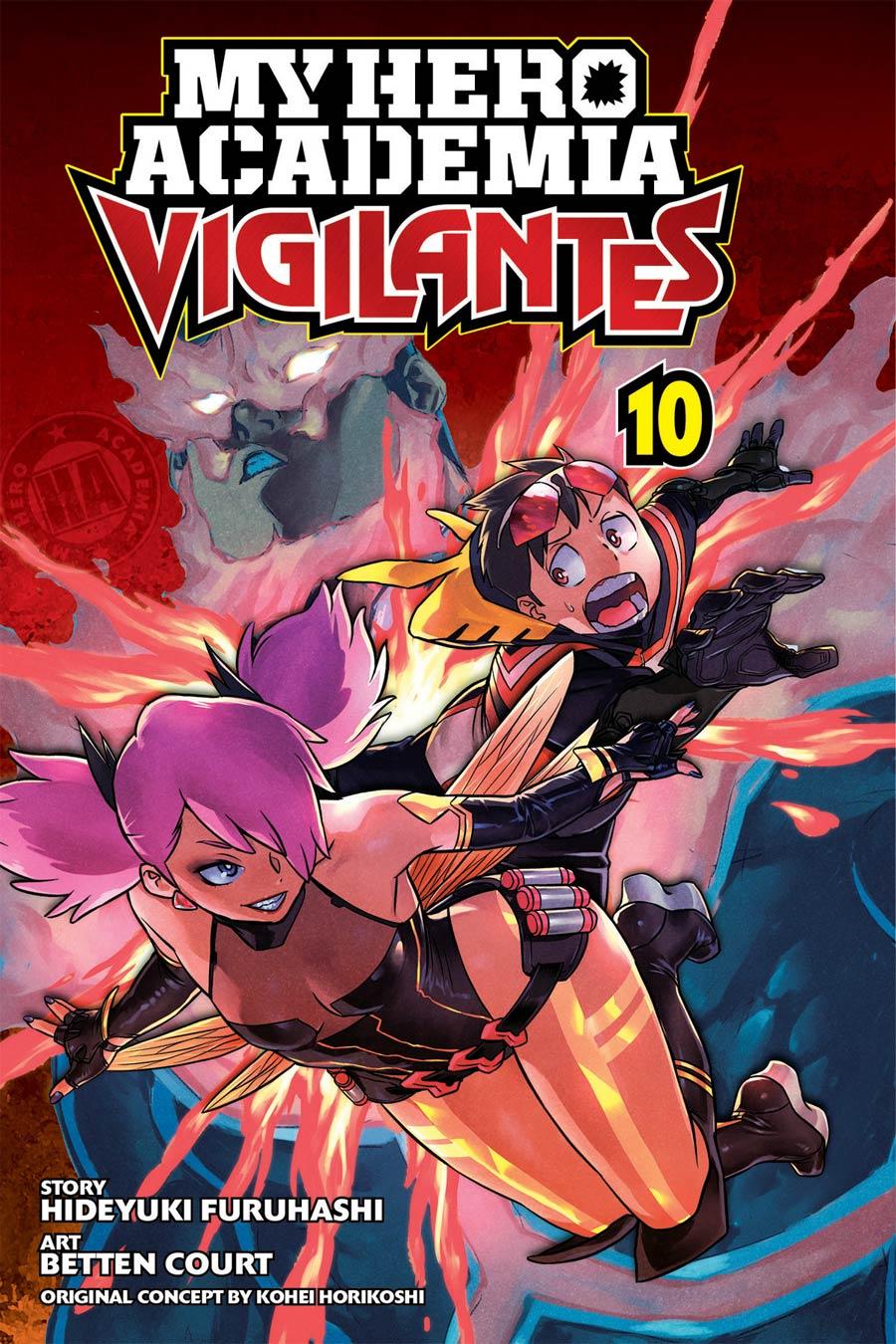 My Hero Academia Vigilantes Vol 10 GN