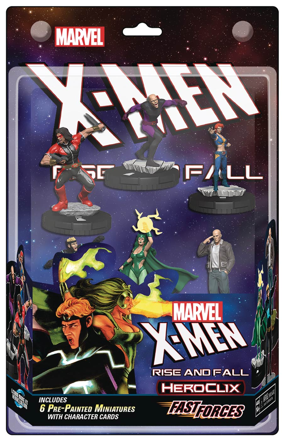 Marvel HeroClix X-Men Rise & Fall Of The Shiar Empire Fast Forces Pack