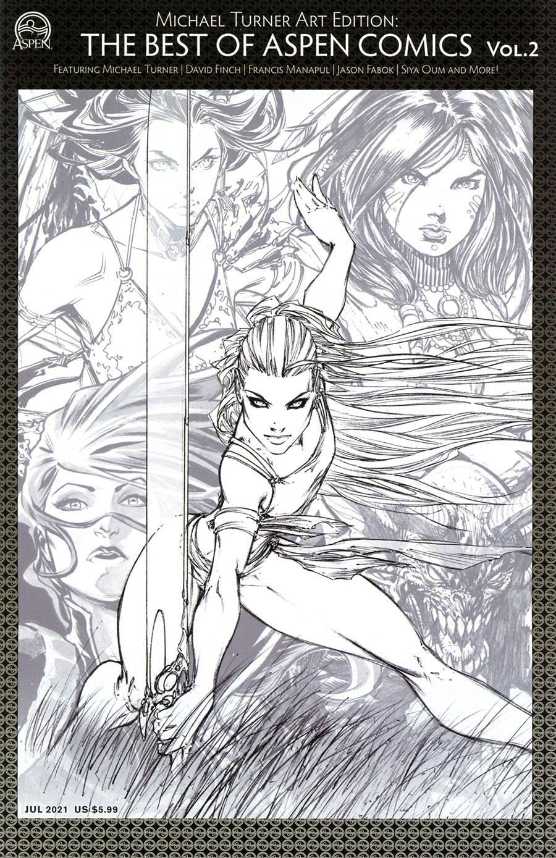 Michael Turner Art Edition Best Of Aspen Comics #2 Cover A Regular Michael Turner Cover