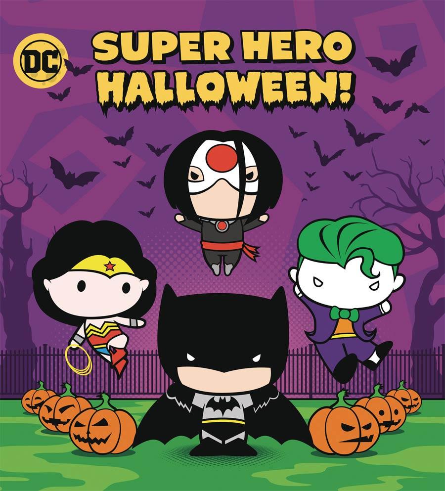 DC Super Hero Halloween Board Book HC