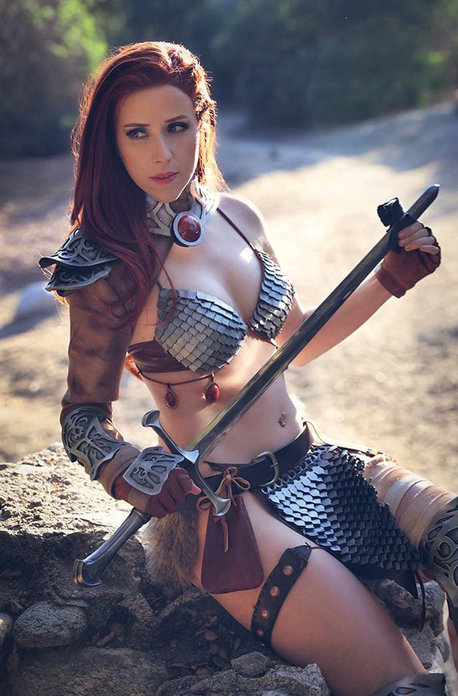 Invincible Red Sonja #3 Cover H Incentive Dominica Cosplay Photo Virgin Cover