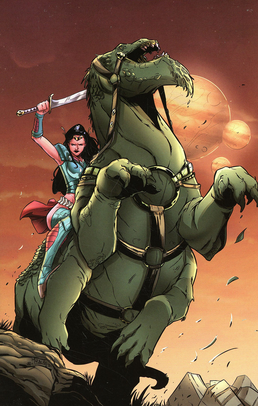 Dejah Thoris Versus John Carter Of Mars #1 Cover N Limited Edition Alessandro Miracolo Virgin Cover