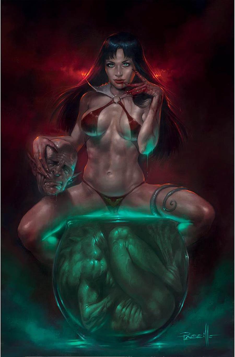 Vampirella Vol 8 #23 Cover L Limited Edition Lucio Parrillo Virgin Cover