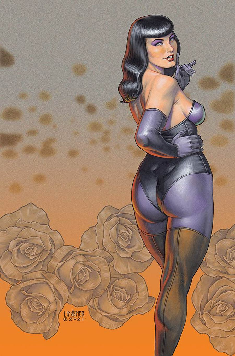 Bettie Page And The Curse Of The Banshee #2 Cover M Limited Edition Joseph Michael Linsner Virgin Cover