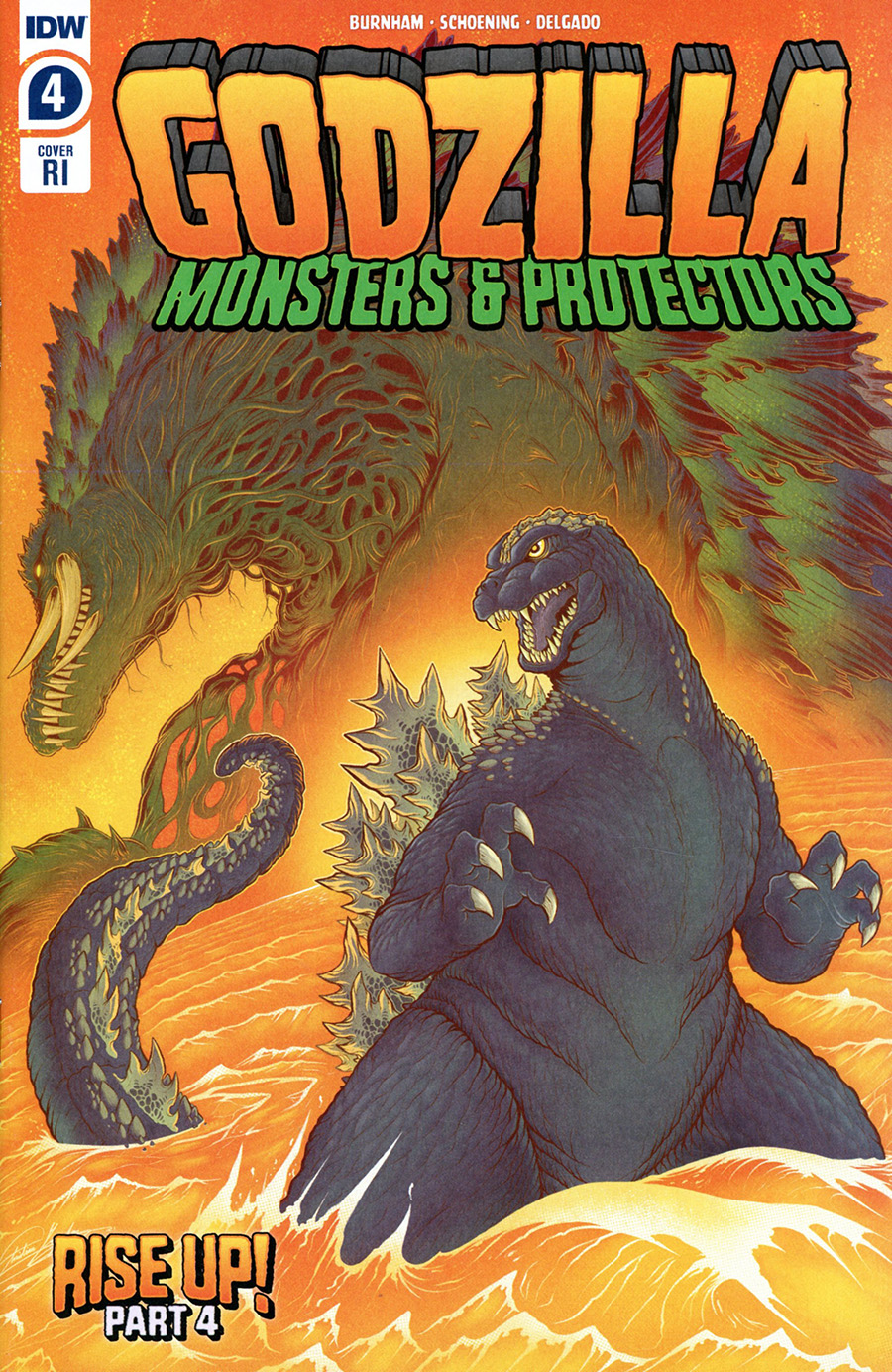 Godzilla Monsters & Protectors #4 Cover C Incentive Christian Gonzalez Variant Cover