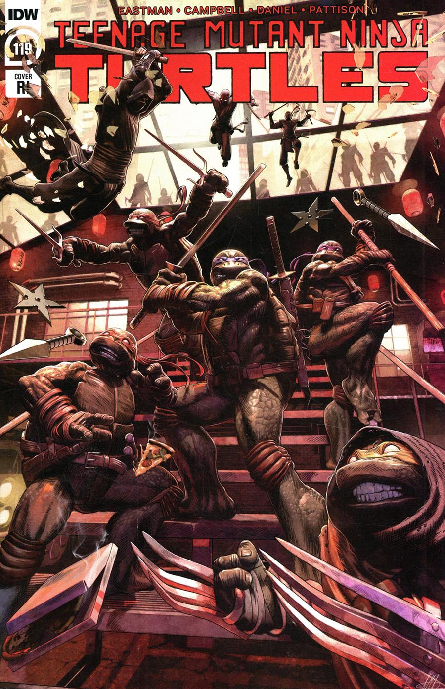 Teenage Mutant Ninja Turtles Vol 5 #119 Cover C Incentive Alex McArdell Variant Cover