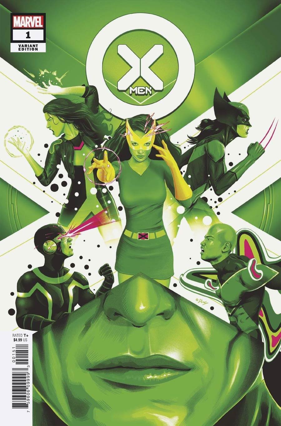X-Men Vol 6 #1 Cover M Incentive Doaly Variant Cover