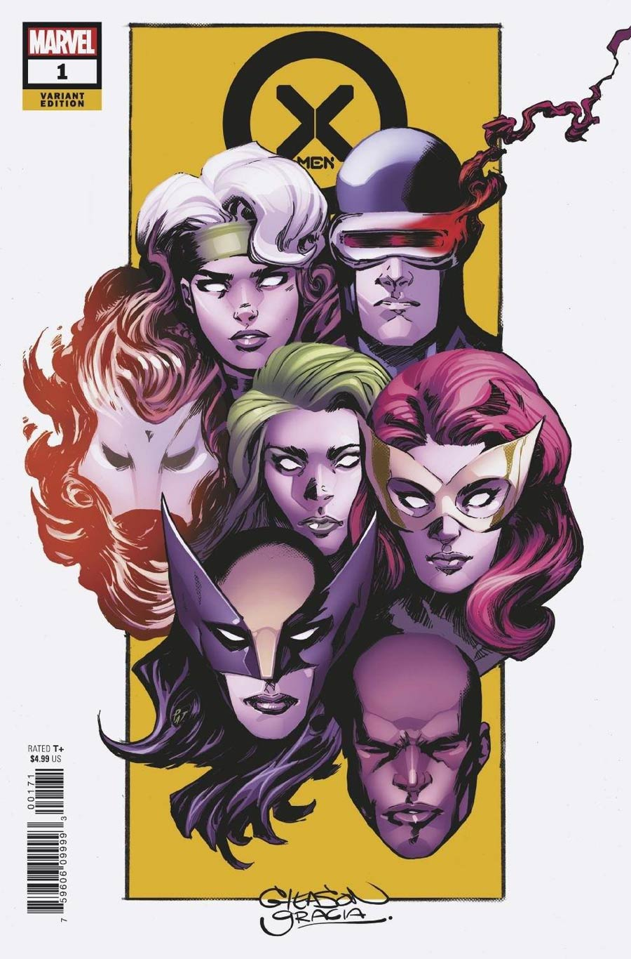 X-Men Vol 6 #1 Cover O Incentive Patrick Gleason Variant Cover
