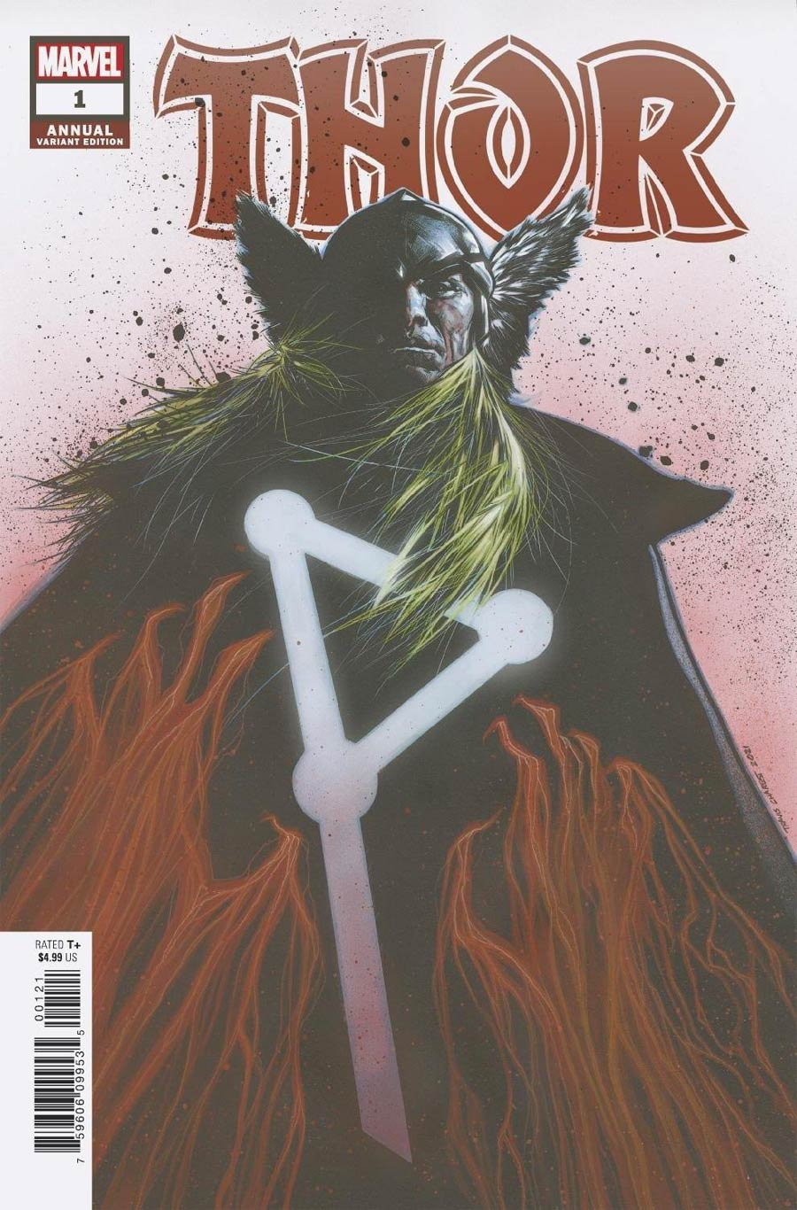 Thor Vol 6 Annual #1 Cover C Incentive Travis Charest Variant Cover (Infinite Destinies Tie-In)