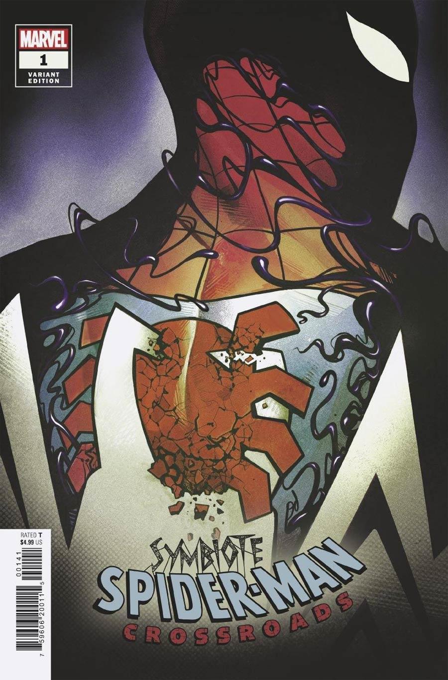 Symbiote Spider-Man Crossroads #1 Cover D Incentive Mike Del Mundo Variant Cover