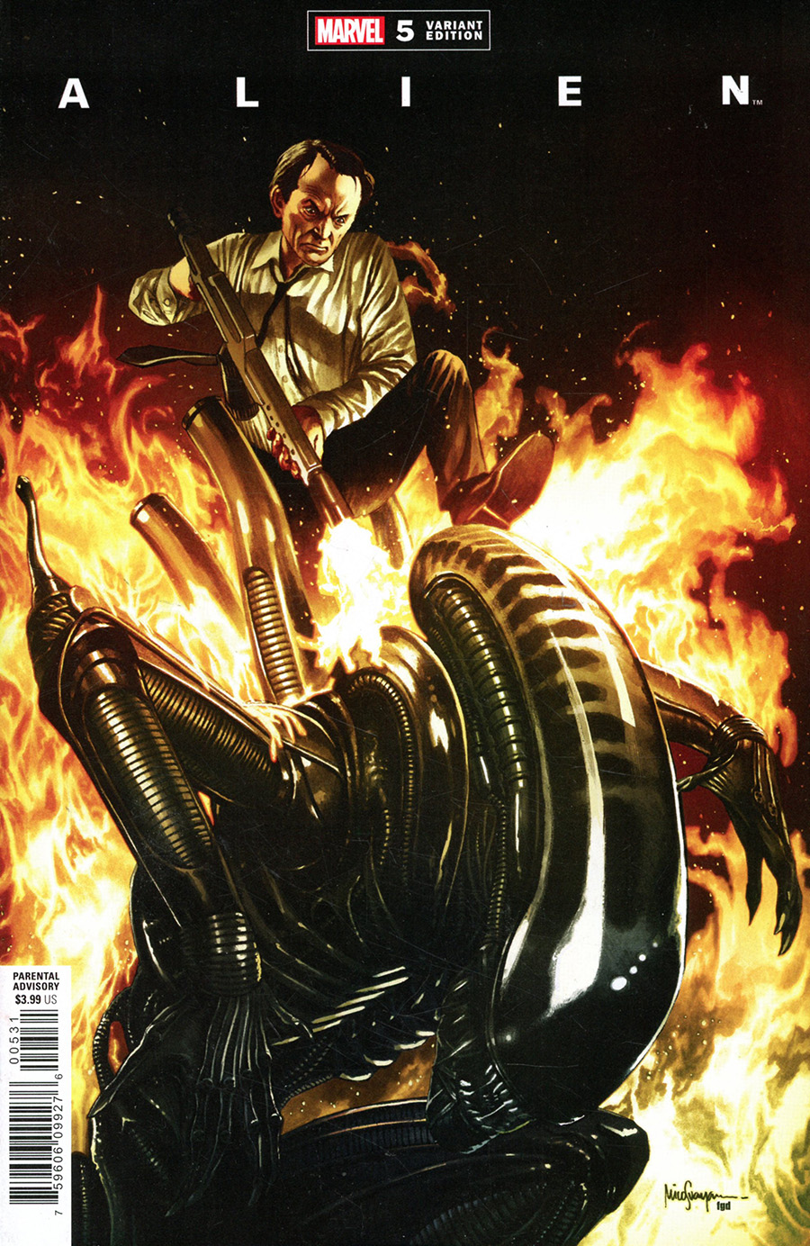 Alien #5 Cover D Incentive Mico Suayan Variant Cover