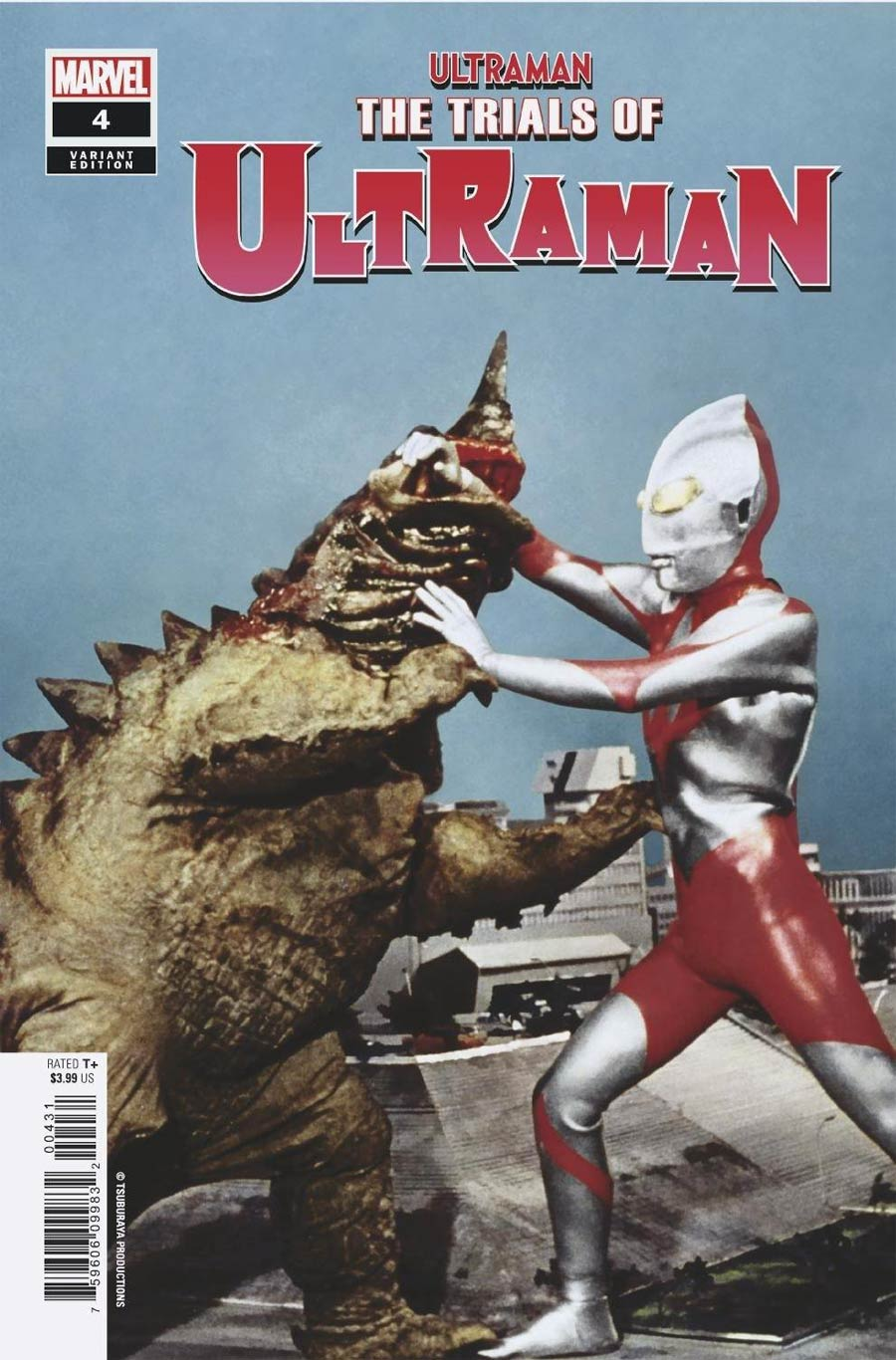 Ultraman Trials Of Ultraman #4 Cover C Incentive TV Photo Variant Cover