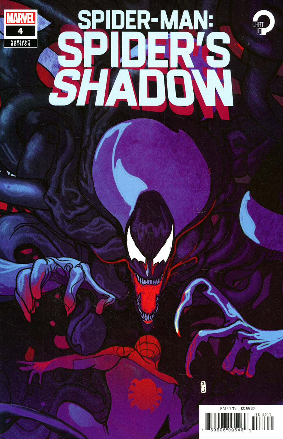 Spider-Man Spiders Shadow #4 Cover B Incentive Christian Ward Variant Cover