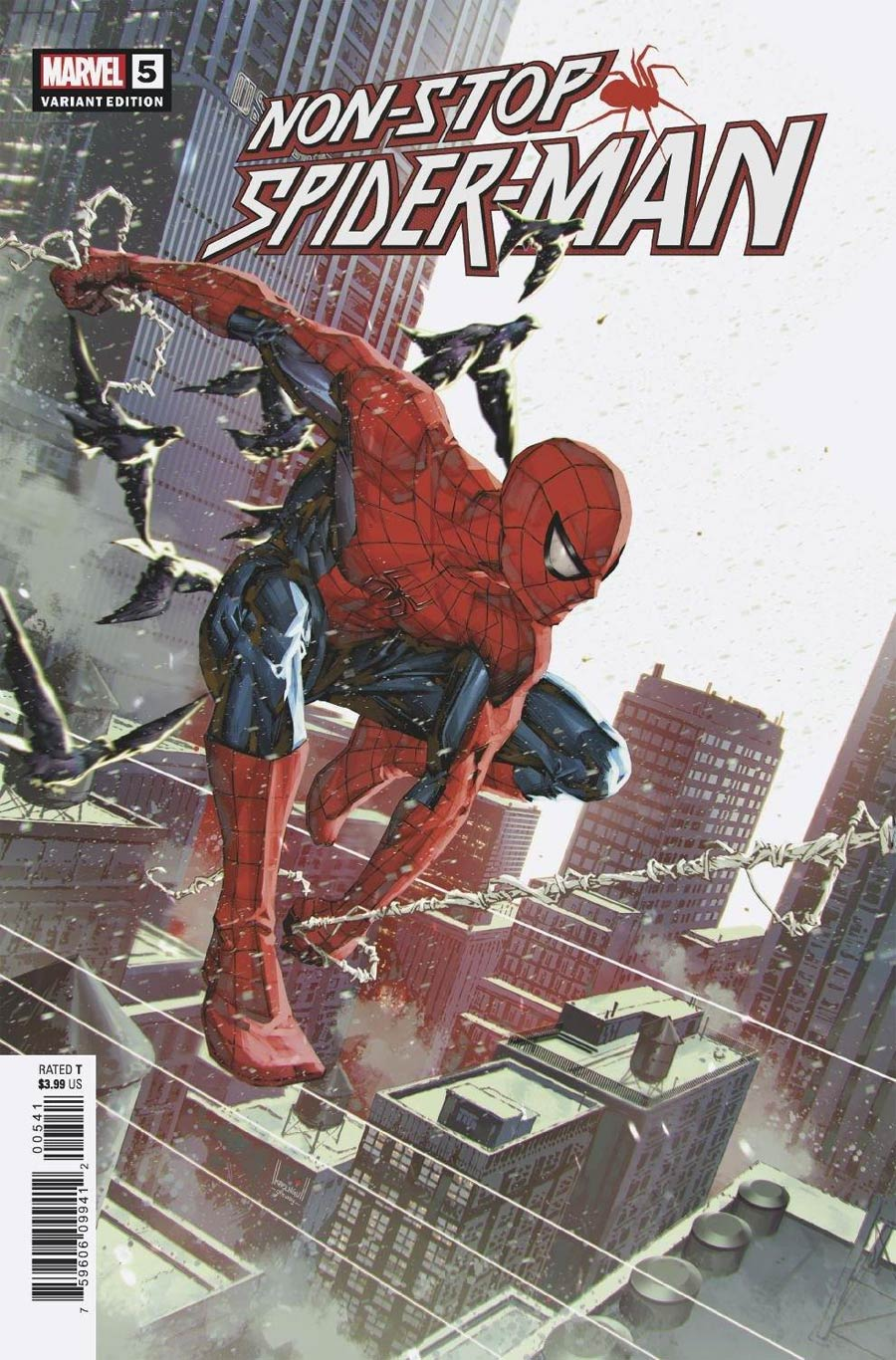 Non-Stop Spider-Man #5 Cover B Incentive Kael Ngu Variant Cover