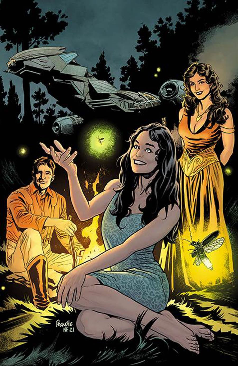 Firefly #31 Cover D Incentive Yanick Paquette Virgin Cover