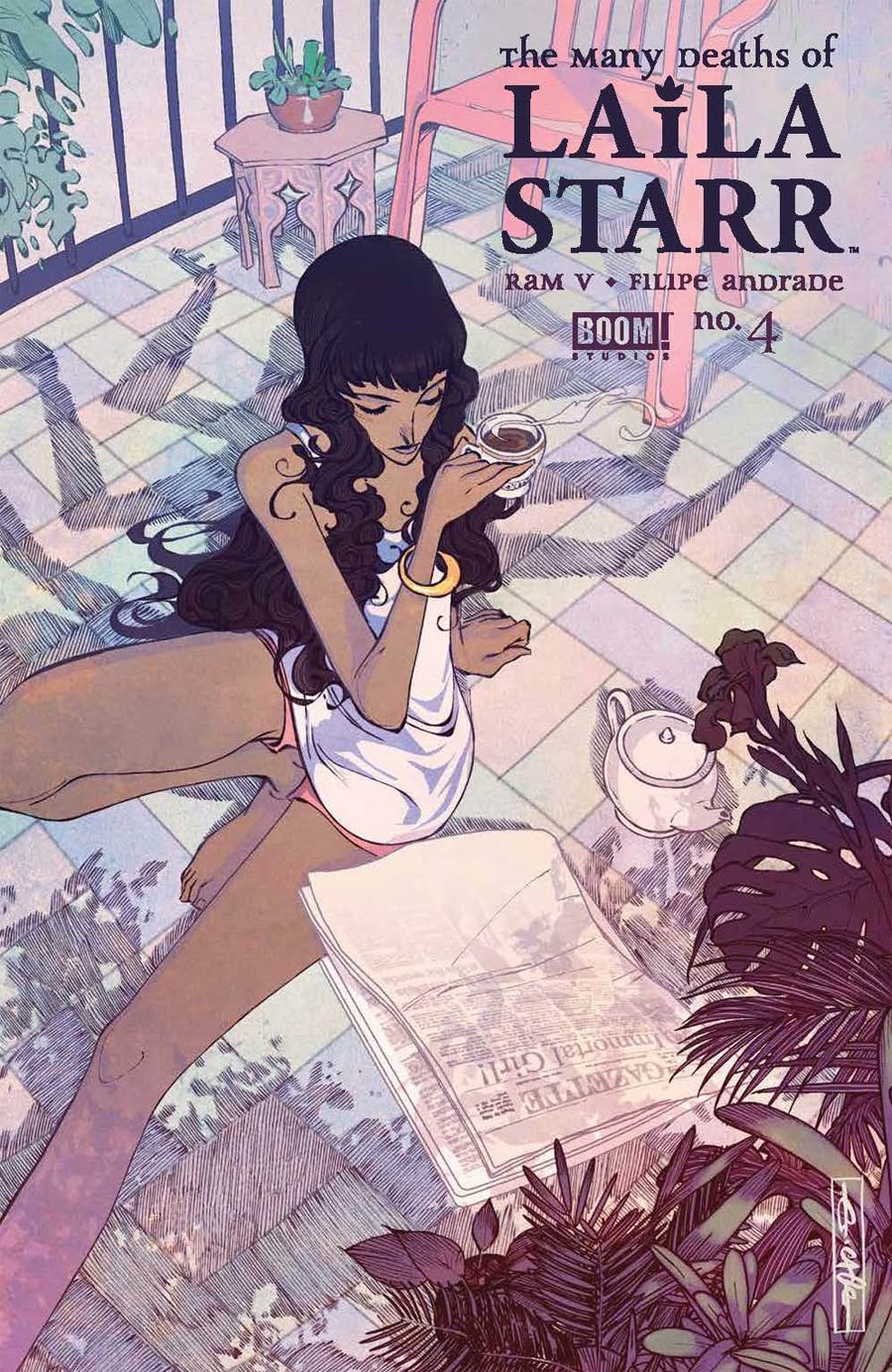 Many Deaths Of Laila Starr #4 Cover C Incentive Evan Cagle Variant Cover