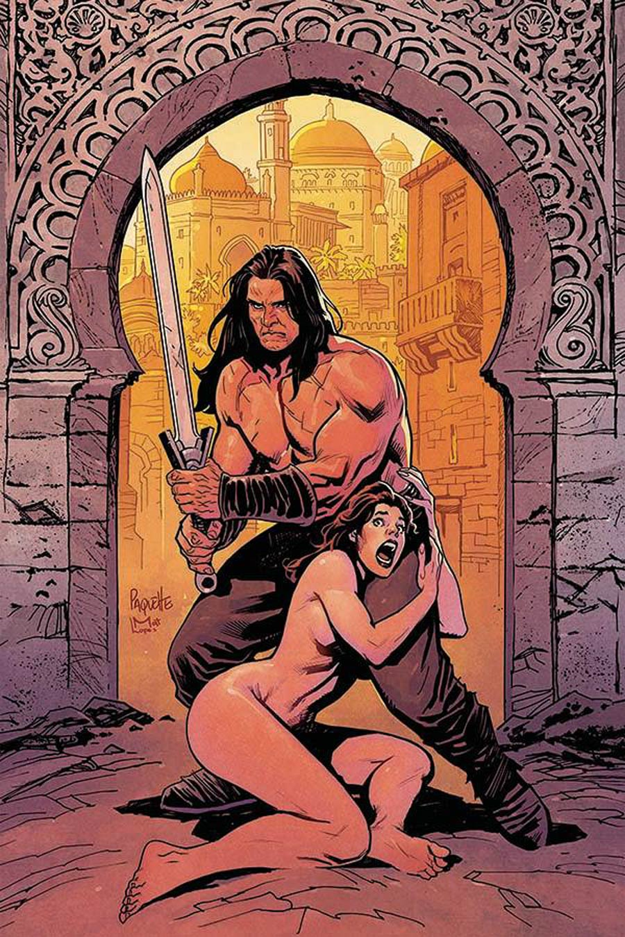 Cimmerian Man-Eaters Of Zamboula #1 Cover G Incentive Yanick Paquette Virgin Cover