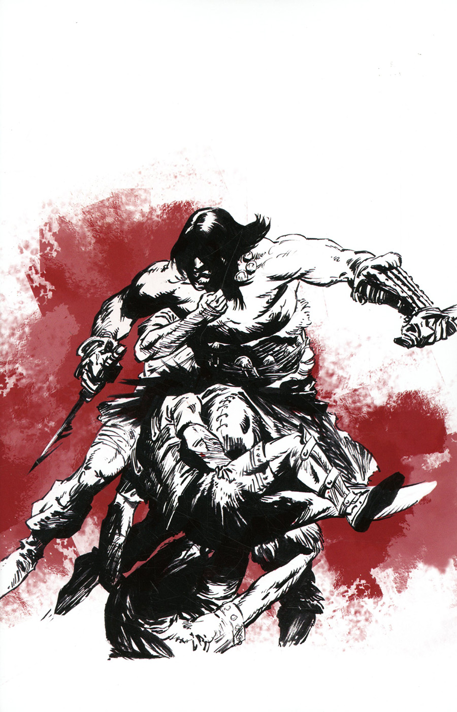 Cimmerian Man-Eaters Of Zamboula #1 Cover I Incentive Robin Recht Wraparound Virgin Cover