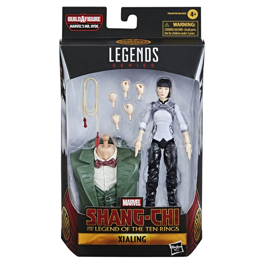 Marvel Legends Shang-Chi And The Legend Of The Ten Rings Xialing 6-Inch Action Figure
