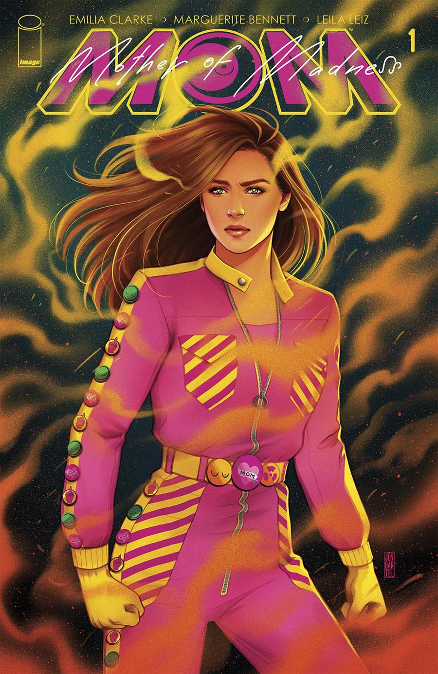 M.O.M. Mother Of Madness #1 Cover B Variant Jen Bartel Cover