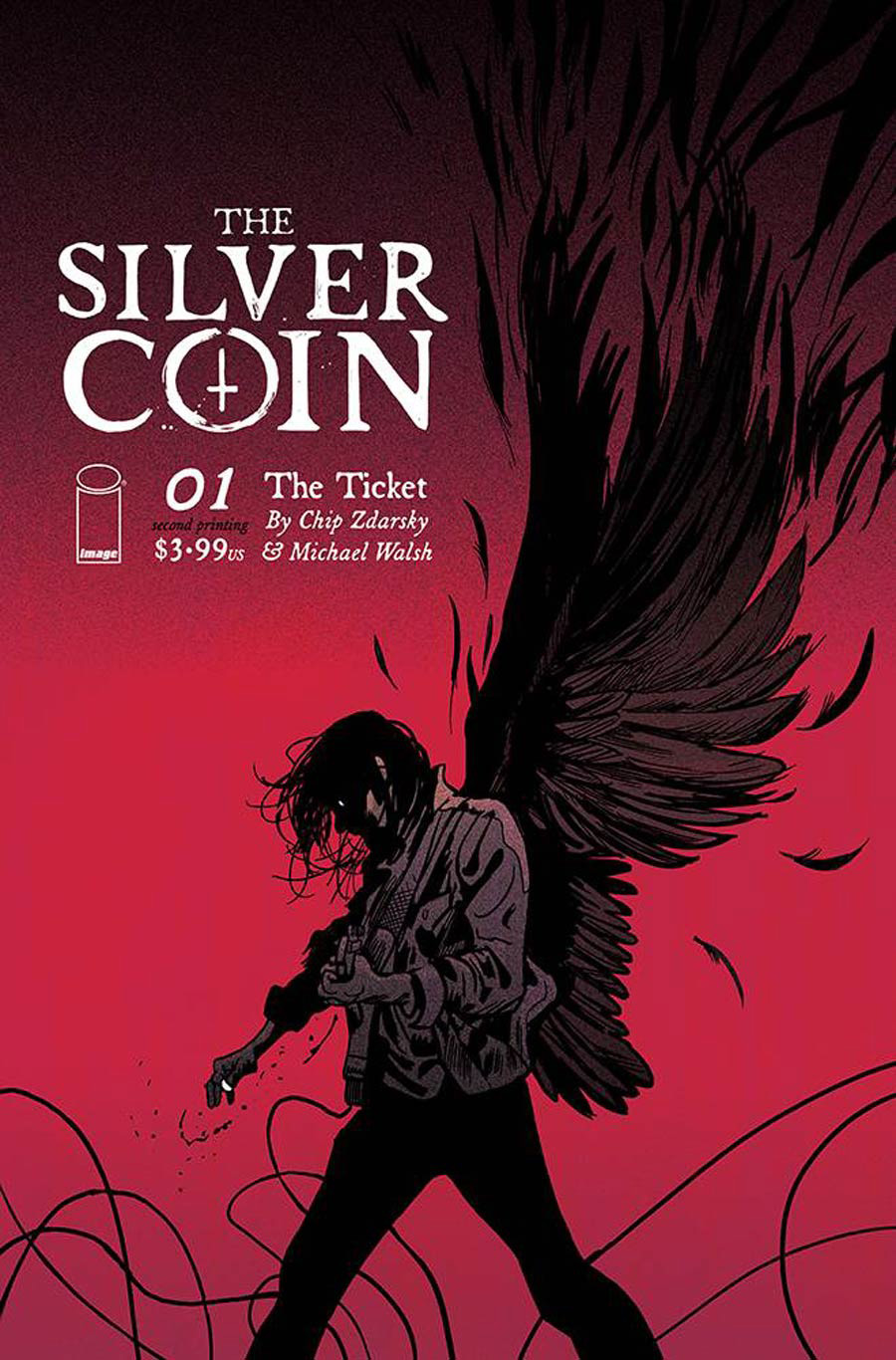 Silver Coin #1 Cover D 2nd Ptg