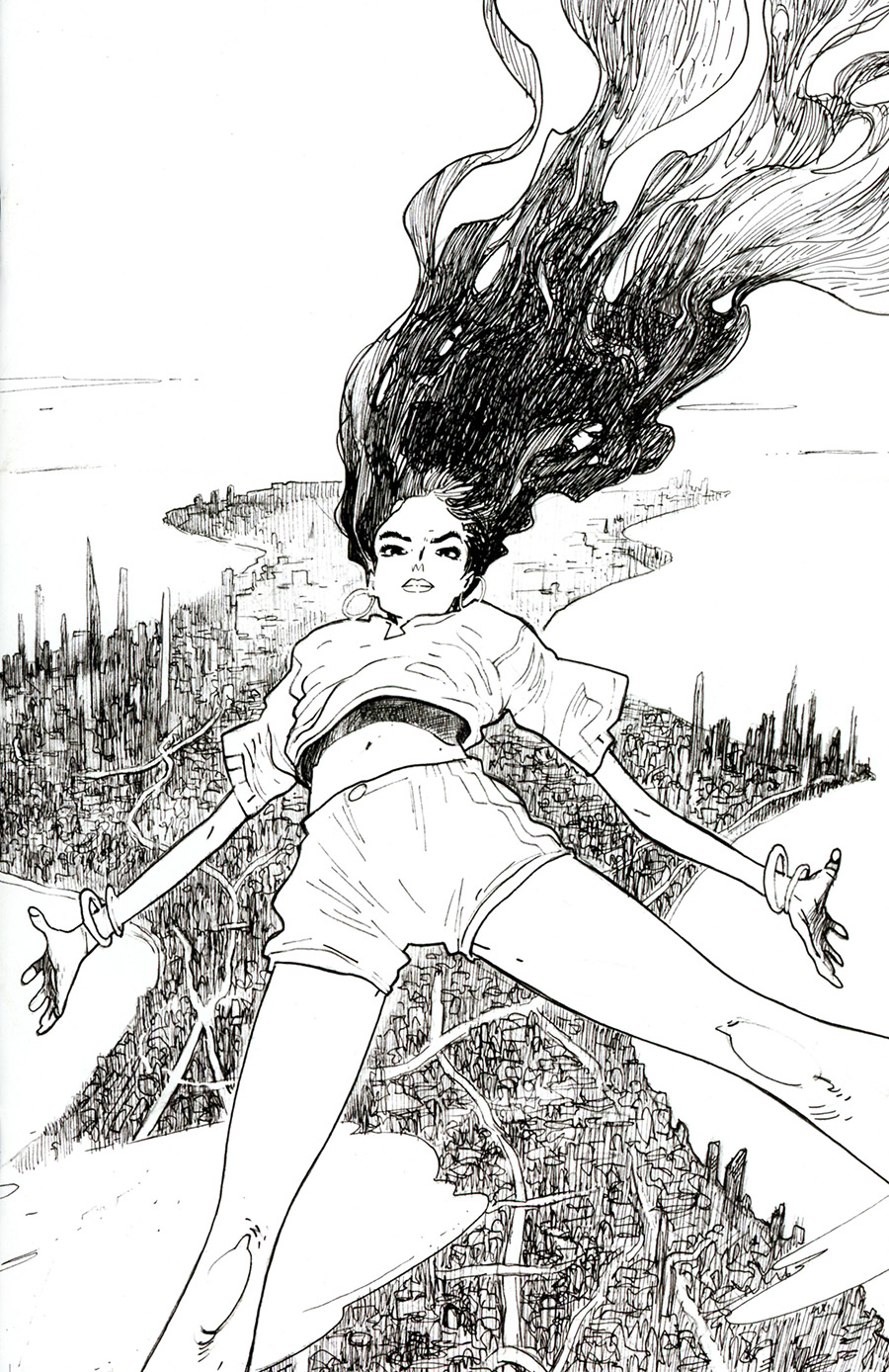 Many Deaths Of Laila Starr #1 Cover G Incentive Thank You Variant Cover