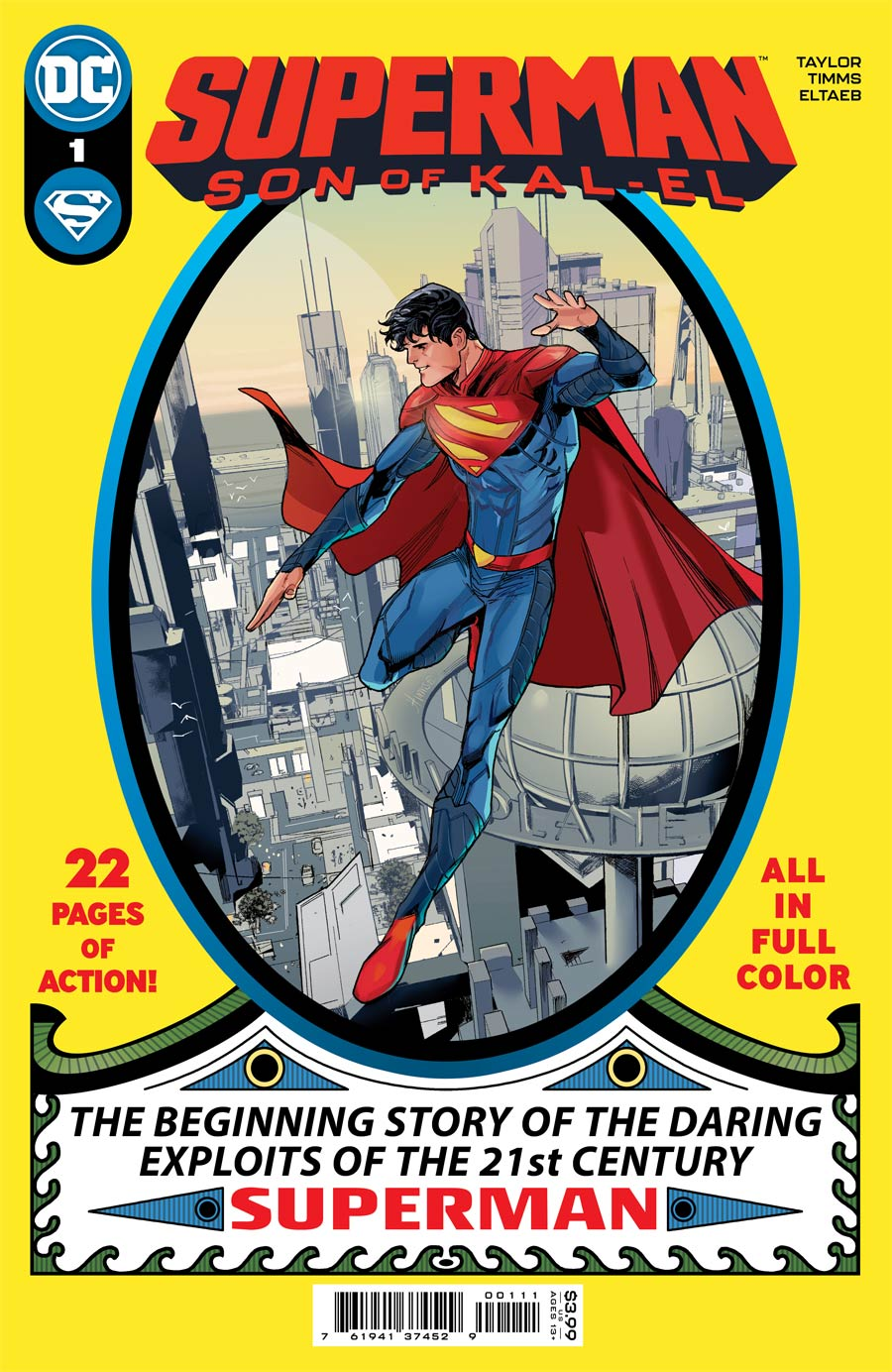 Superman Son Of Kal-El #1 Cover A Regular John Timms Cover