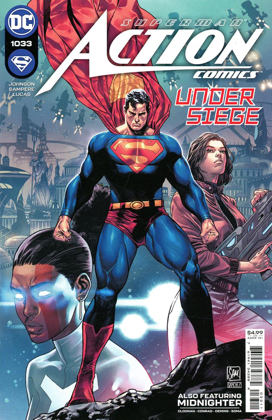 Action Comics Vol 2 #1033 Cover A Regular Daniel Sampere Cover
