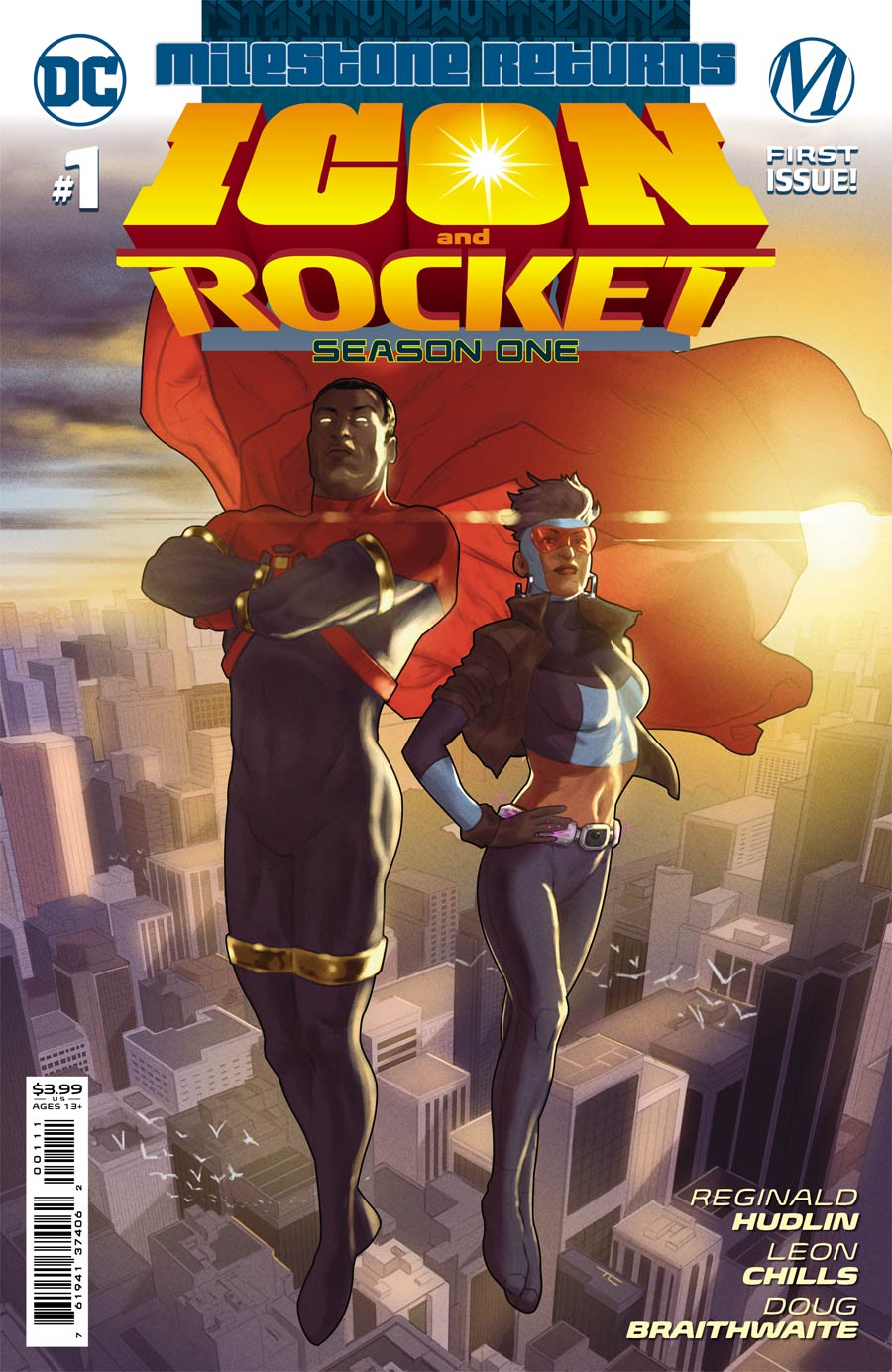 Icon & Rocket Season One #1 Cover A Regular Taurin Clarke Cover