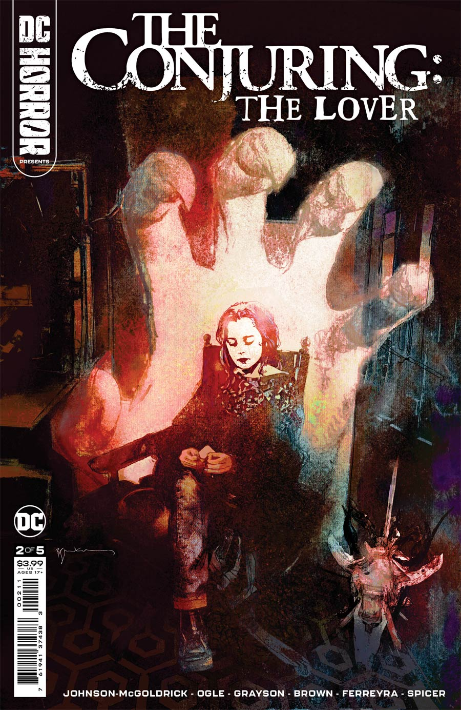 DC Horror Presents The Conjuring The Lover #2 Cover A Regular Bill Sienkiewicz Cover
